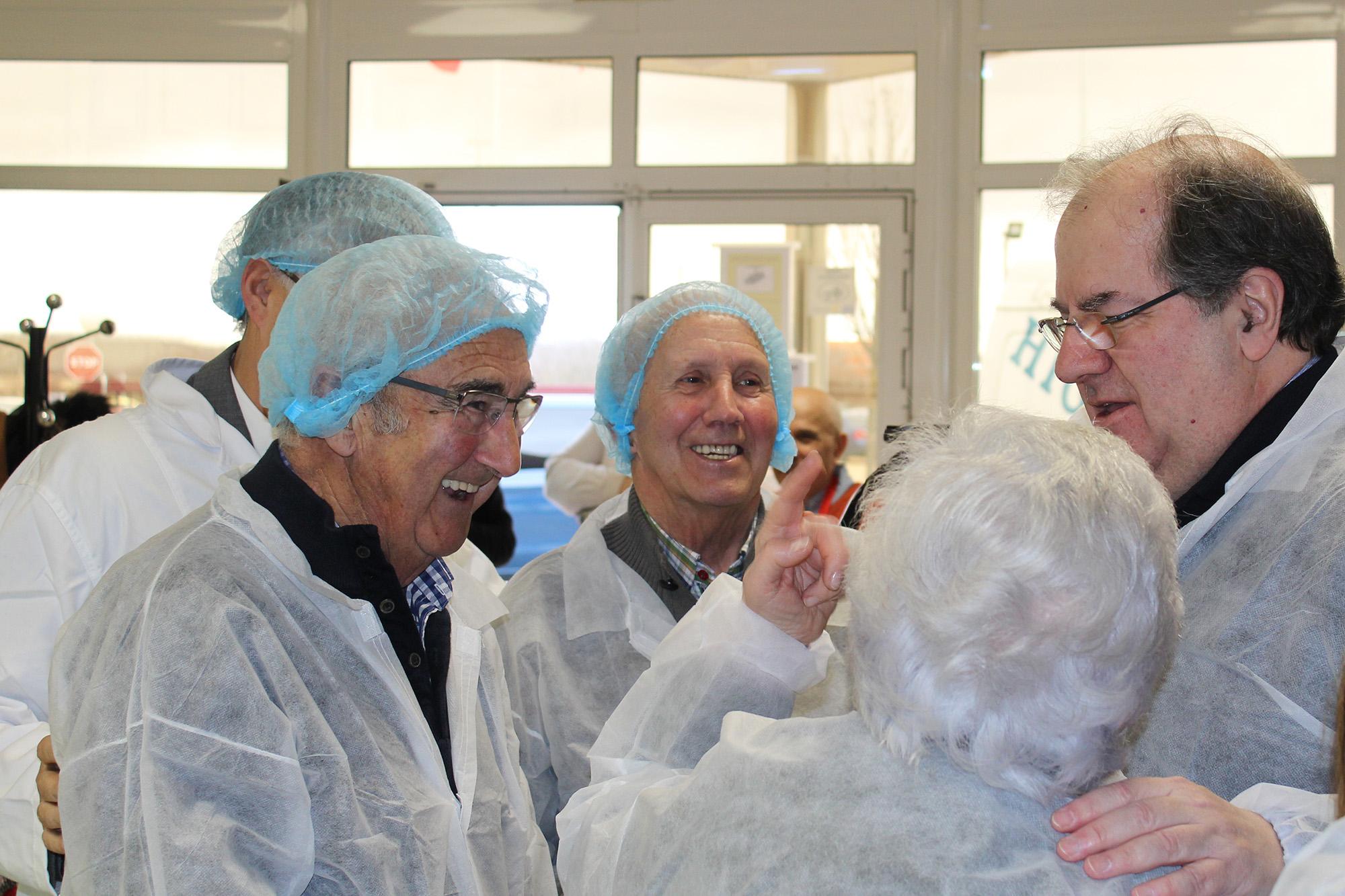 Juan Vicente Herrera visita Quesos El Pastor