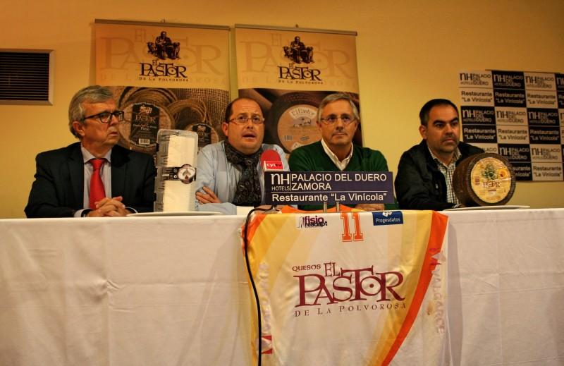 Presentación C.D. Zamarat Sponsor Quesos El Pastor