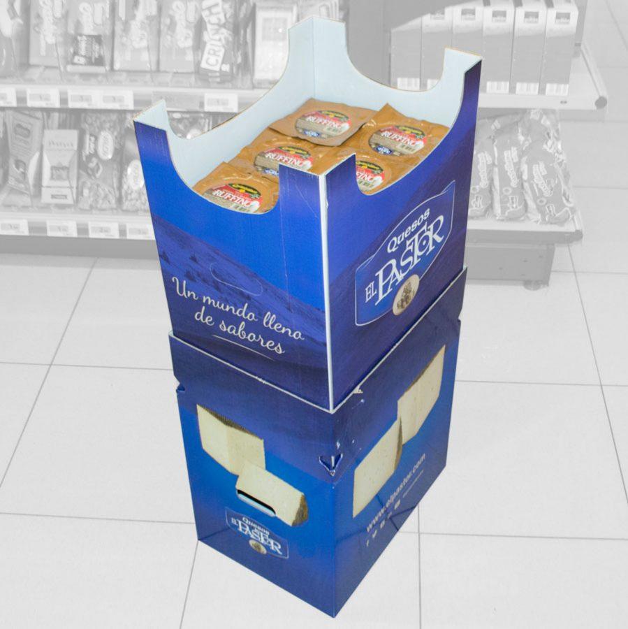 Box pean para exposición individual
