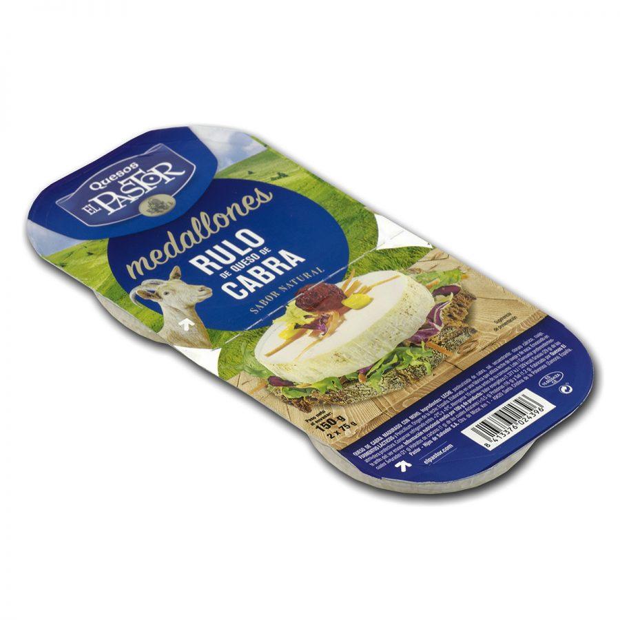 quesos el pastor - cabra medallones pack