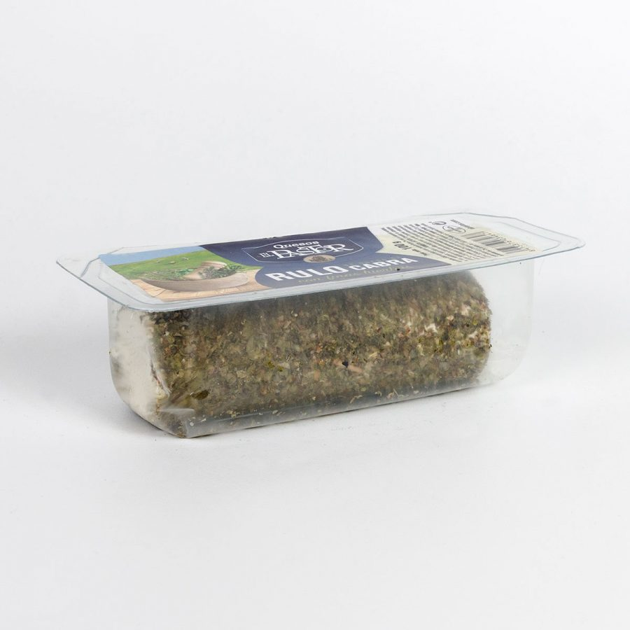 Quesos El Pastor - Goat Log With Aromatic Herbs 100g. Controlled Atmosphere