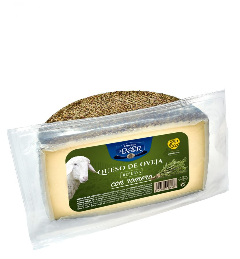 3831 half piece old sheep cheese with rosemary el pastor - web