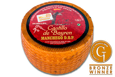 Global Cheese Awards 2016 - Castillo de Bayren